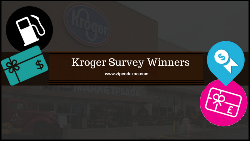 Kroger Feedback Survey Winners